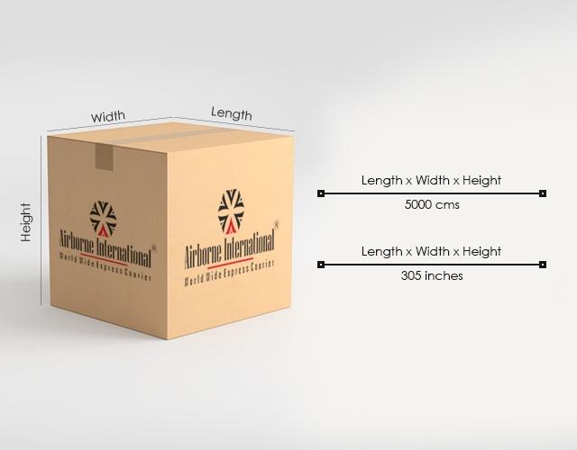 International Courier Weight Calculator
